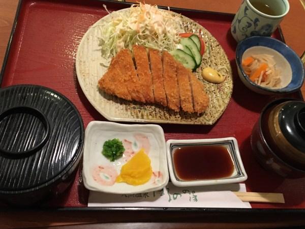 はるのの湯のレストラン「楽山」で地場産料理を食べてきたよ!