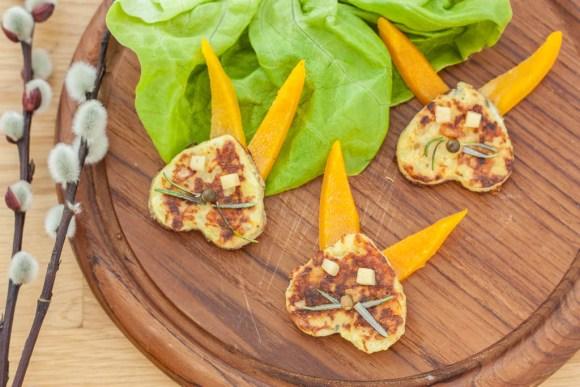 Herzhafte Hasen Pancakes Ostern4
