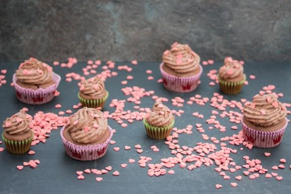 Mousse au Chocolat Cupcakes 3