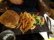 Mein Schatz wählte lieber einen klassischen Burger