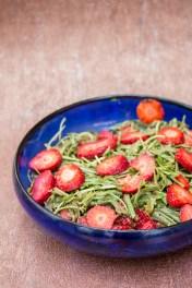 Rucola Erdbeer Salat 1