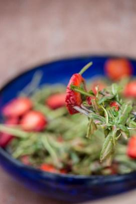 Rucola Erdbeer Salat 2