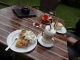Besonders leckeren Kuchen haben wir im Kliff-Café in Nieblum gegessen