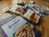 Nützliche Helferlein: In den WW-Büchern sind moderne unkomplizierte Rezepte und die Süßis kann ich naschen ohne Reue