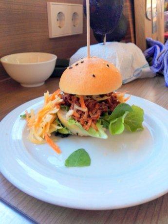 Pulled-Jackfruit-Burger - wollte ich schon immer mal probieren