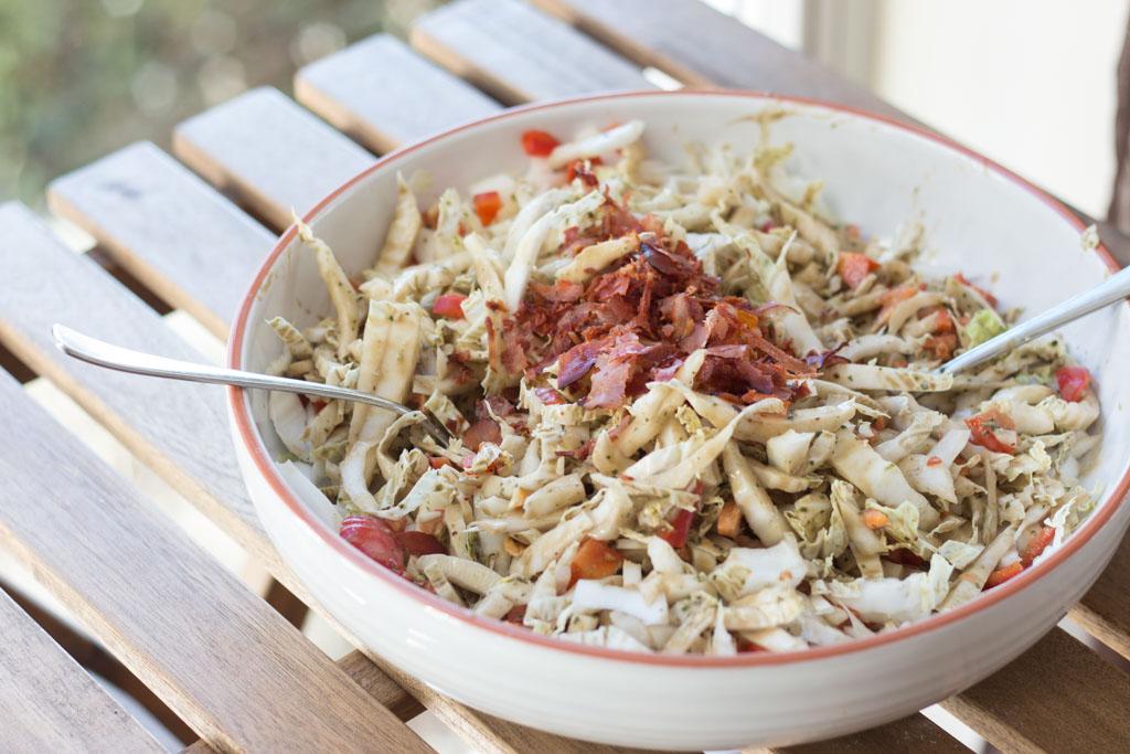 Chinakohl Zubereiten Salat Trendy Chinakohl Salat Mit Pfeln Cashew