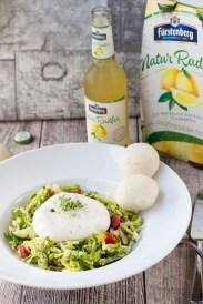 Burrata Salat mit Fürstenberg Naturradler 1