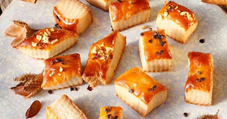 Quarkblätterteig-Kekse