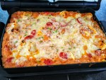 Überbackene Tortellini im OptiGrill mit Snacking & Baking von Tefal