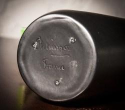 Elchinger France ceramic vase, signature