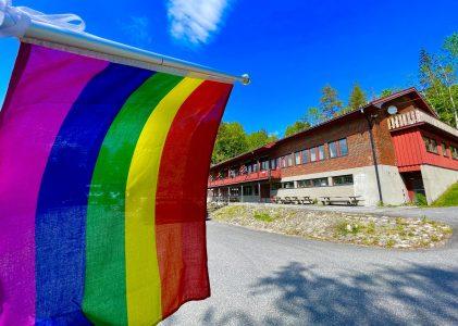 Happy Pride fra Kulturhuset Vonheim