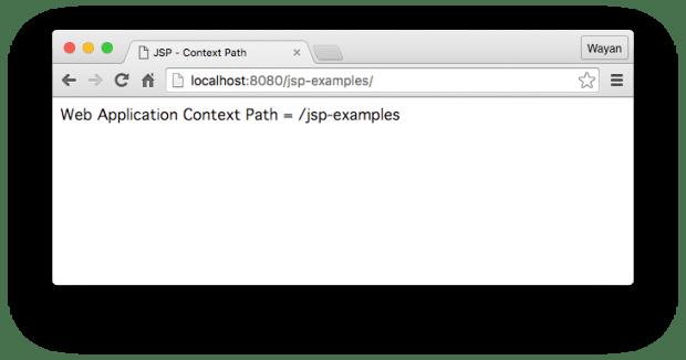Web Application Context Path