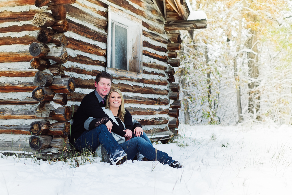 Kelli and David: Engagement Photos in Bozeman, Montana : Montana Engagement Photographer