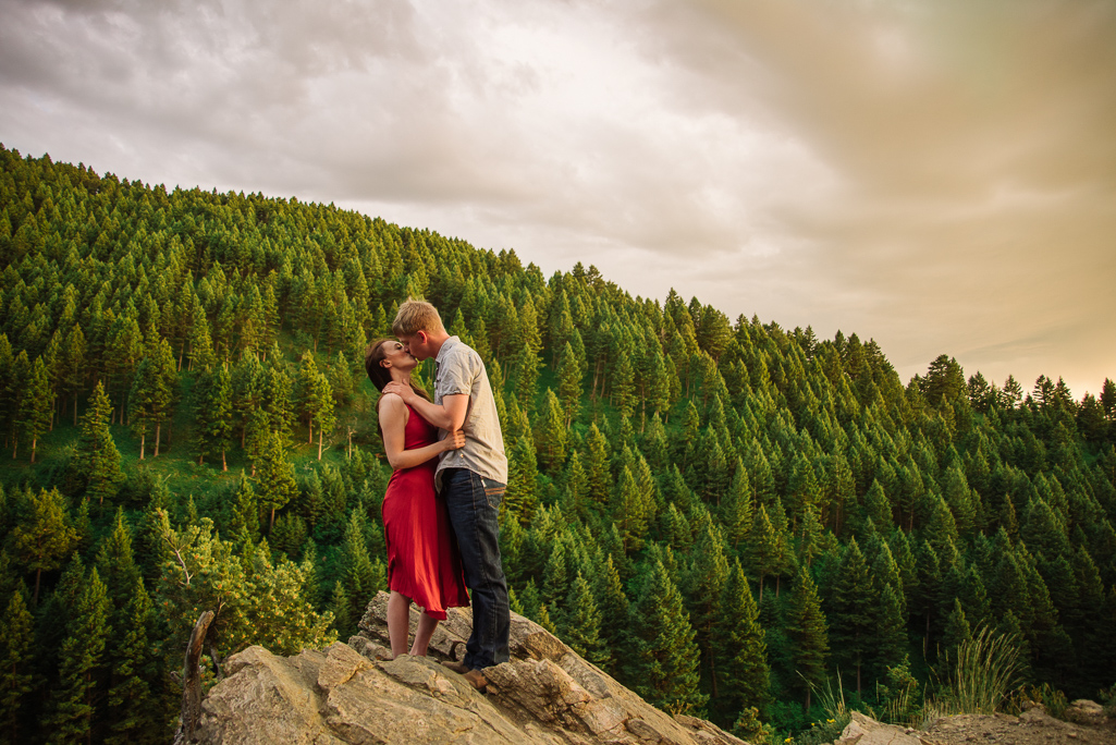 Riley and Keegan: Couples photos in Bozeman, Montana : Montana Engagement Photographer