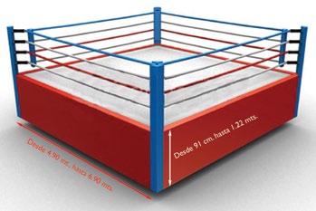 Medidas Ring boxeo