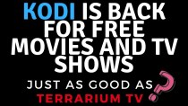 KODI IS BACK SUPER STRONG AND JUST AS GOOD AS TERRARIUM TV!