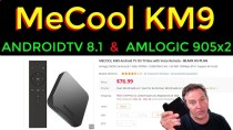 🔴 AndroidTV 8.1 & NEW Amlogic 905×2 in the MeCool KM9 – Results and Review