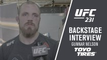"""UFC 231: Gunnar Nelson – """"I Completed Him with an Elbow"""""""