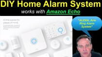 """🔴Home Alarm DIY KIT from RING – Works with """"ALEXA"""", Amazon Echo"""