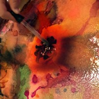 Mixing Water Colours