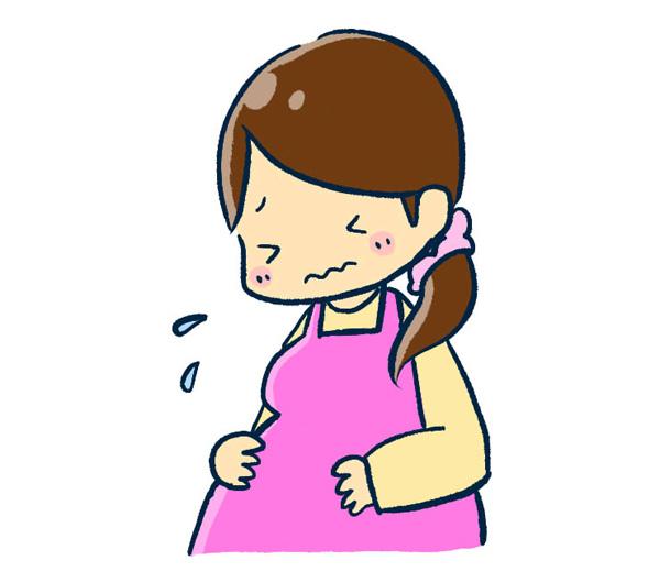 妊娠中の息苦しさ