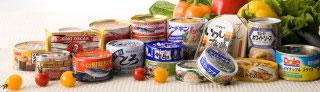 缶詰などの食料
