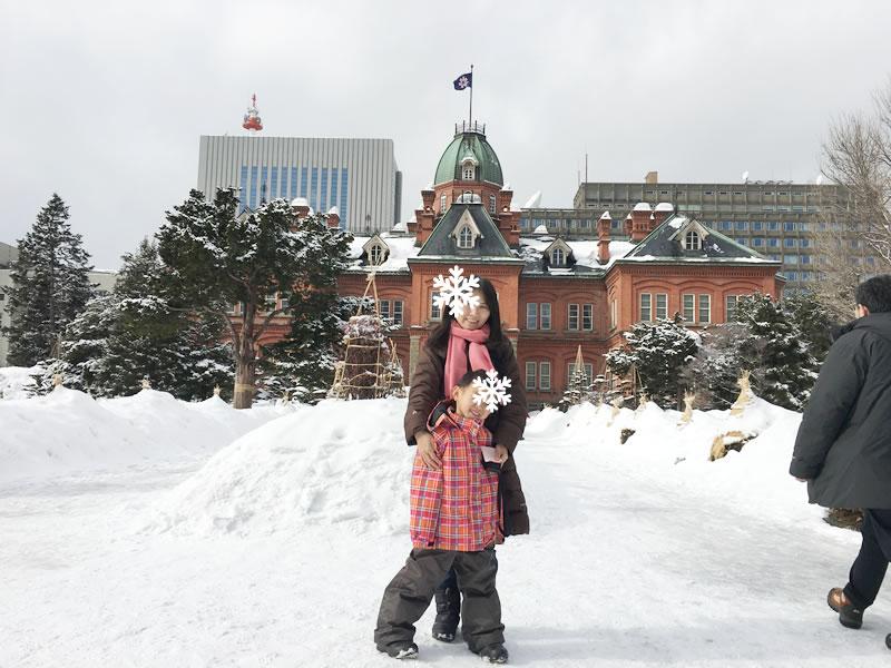 冬の札幌 こどもの楽しみ方