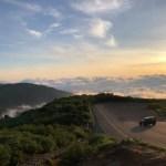 雲海とディフェンダー