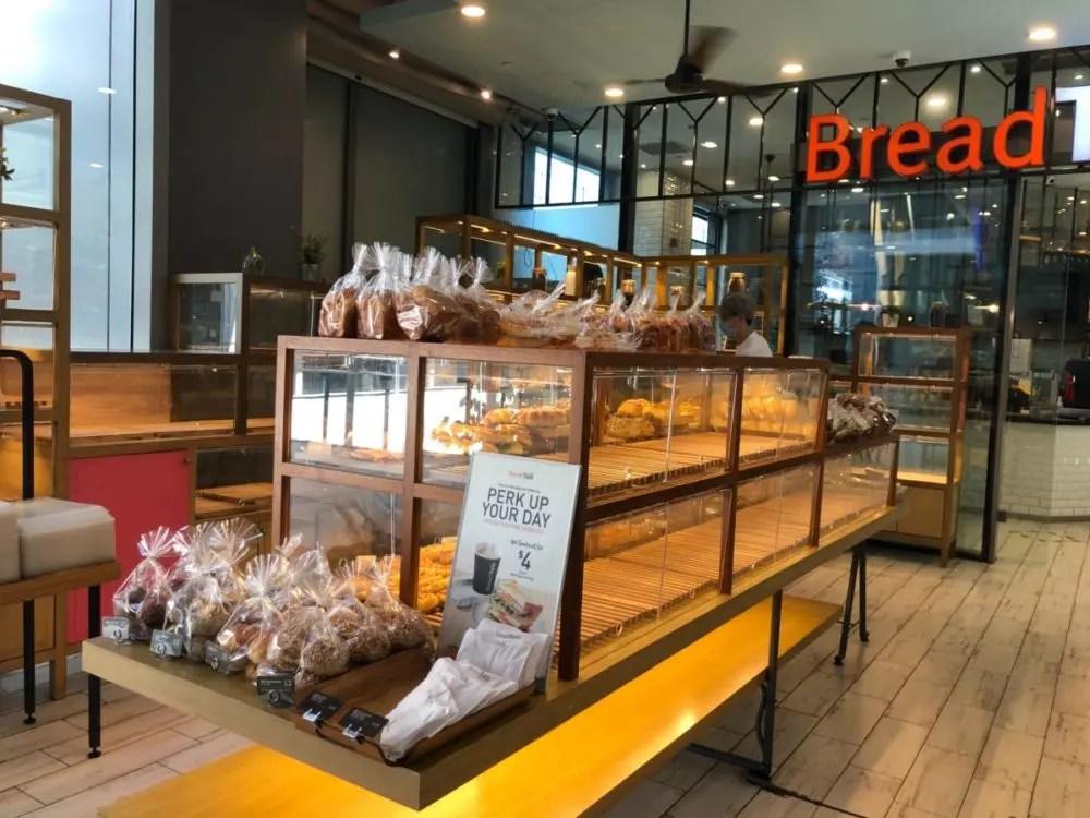 サーキットブレーカー中のパン屋