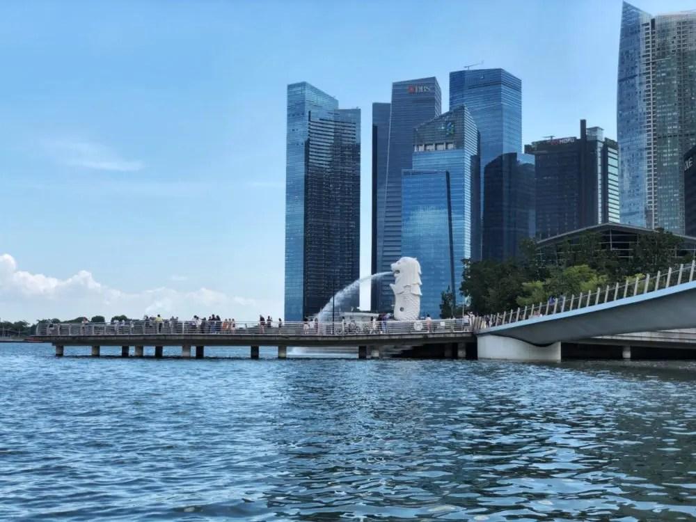 シンガポールリバーからの景色