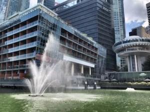 シンガポール噴水画像