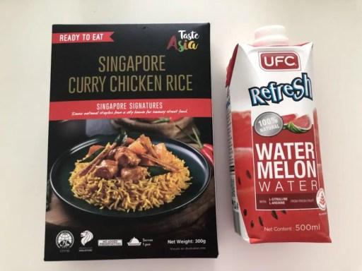 シンガポールのレトルト食品