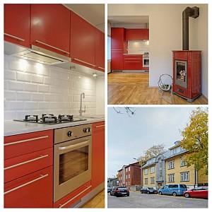Kahetoaline hubane Kalamaja korter Tallinnas - kodufoto.ee