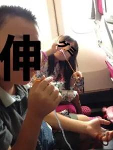 タイ国際航空機内