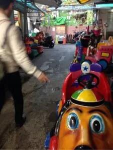 子連れにおすすめ臨江街夜市