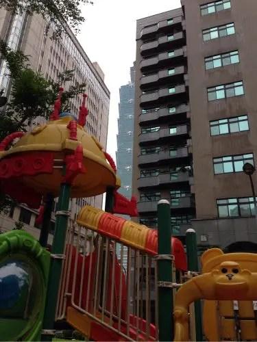 子連れ台北101