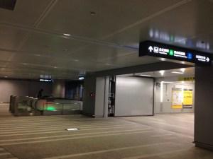 台北地下街Y区と台北駅