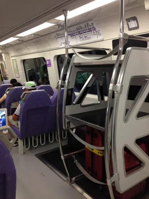 2017夏旅行記④台湾入国。初めて桃園空港MRTに乗って台北駅へ