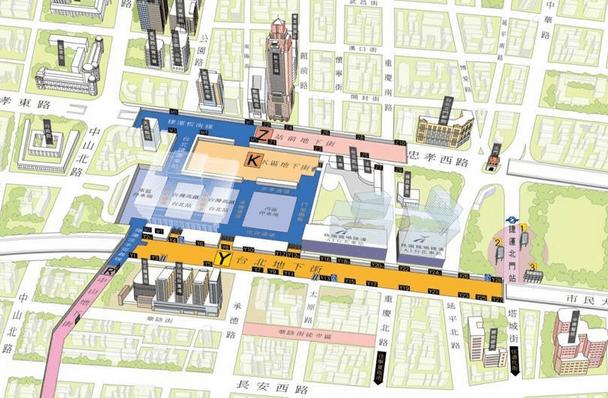 どこよりも詳しい台北地下街〈Y区〉情報 地図、出入り口、お店まとめ