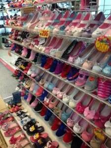 台北駅地下街Y区子ども靴