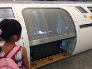 台北駅インタウンチェックイン