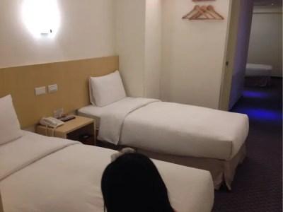 洛碁大飯店 林森館 (グリーン ワールド イン リンセン)トリプルルームに泊まったよ