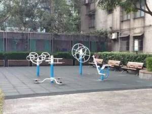 台湾の公園、健康器具