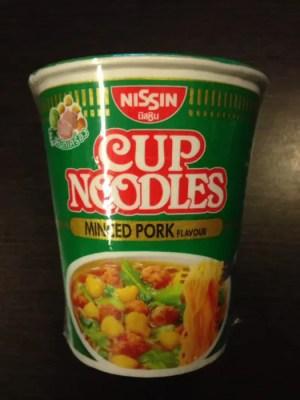 バンコク土産「カップヌードル ミンスドポーク味」はおすすめしない…