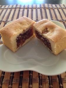 『手天品』胡桃入りパイナップルケーキ