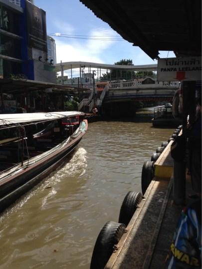 水上バス「プラトゥナーム船着場」