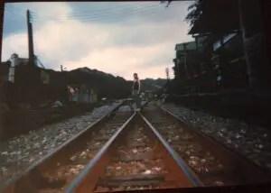 昔の台湾・十分駅