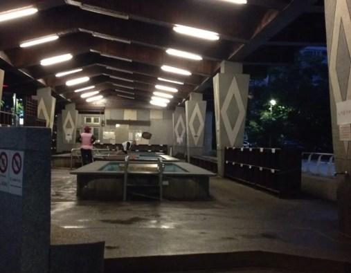 新北投温泉復興公園の足湯