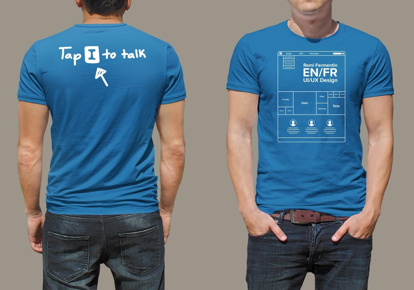 T-shirt design for symposium