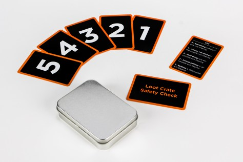Loot Crate Team Safety Check Cards